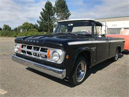 1968 Dodge D100 (CC-1381266) for sale in LYNDEN, Washington