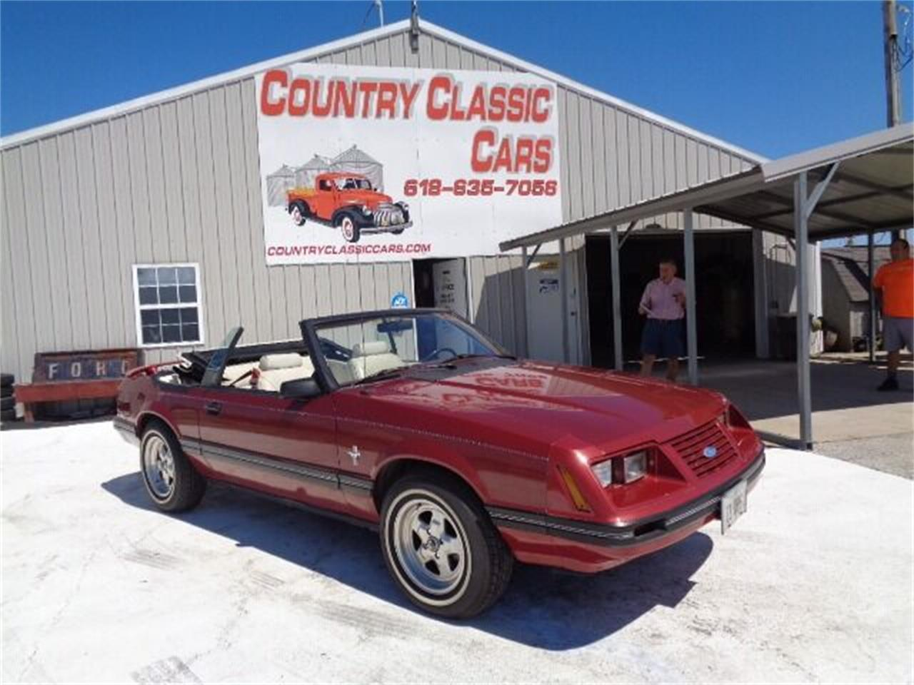 1984 Ford Mustang (CC-1381361) for sale in Staunton, Illinois