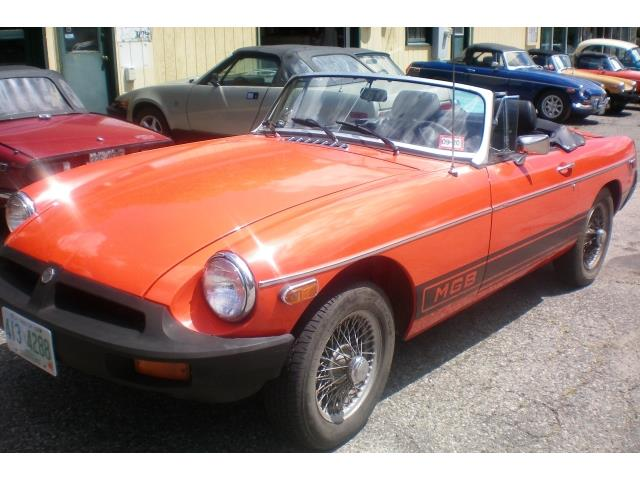 1980 MG MGB (CC-1380138) for sale in rye, New Hampshire