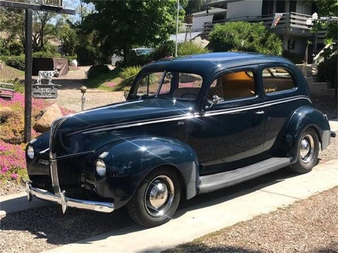 1940 Ford Tudor (CC-1381534) for sale in Cadillac, Michigan
