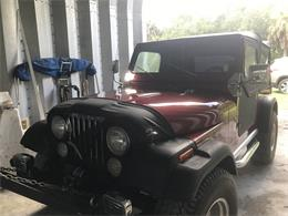 1986 Jeep CJ7 (CC-1380162) for sale in Bradenton, Florida