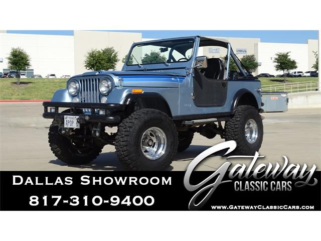 1982 Jeep CJ7 (CC-1381748) for sale in O'Fallon, Illinois