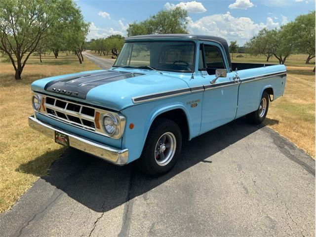 1968 Dodge D100 (CC-1381933) for sale in Fredericksburg, Texas