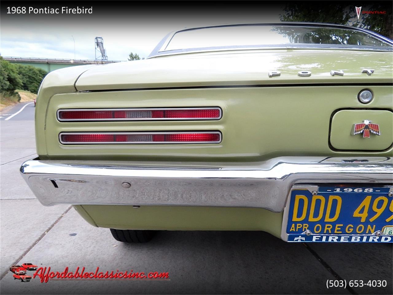 1968 Pontiac Firebird (CC-1380199) for sale in Gladstone, Oregon