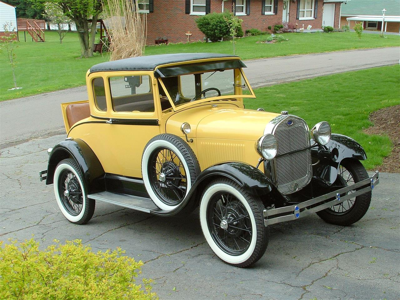 1929 Ford 5-Window Coupe (CC-1382030) for sale in Steubenville, Ohio