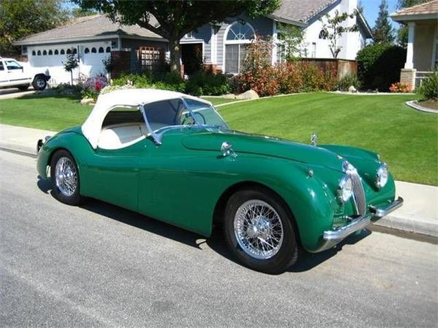 1954 Jaguar XK120 (CC-1380278) for sale in Cadillac, Michigan