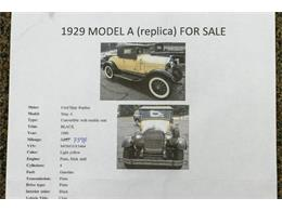 1980 Ford Shay Model A (CC-1383130) for sale in Kentwood, Michigan