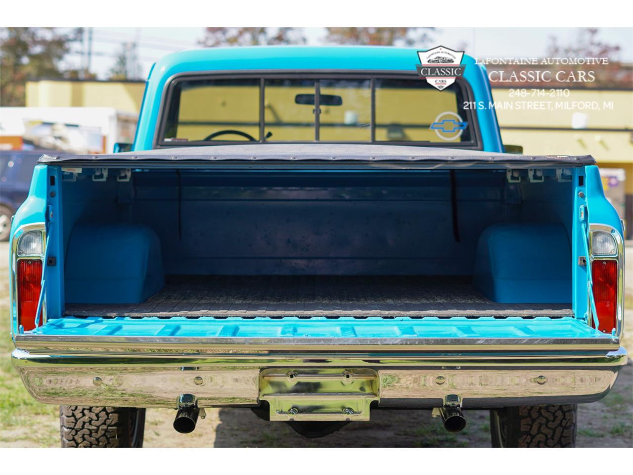 1972 Chevrolet C10 (CC-1383359) for sale in Milford, Michigan