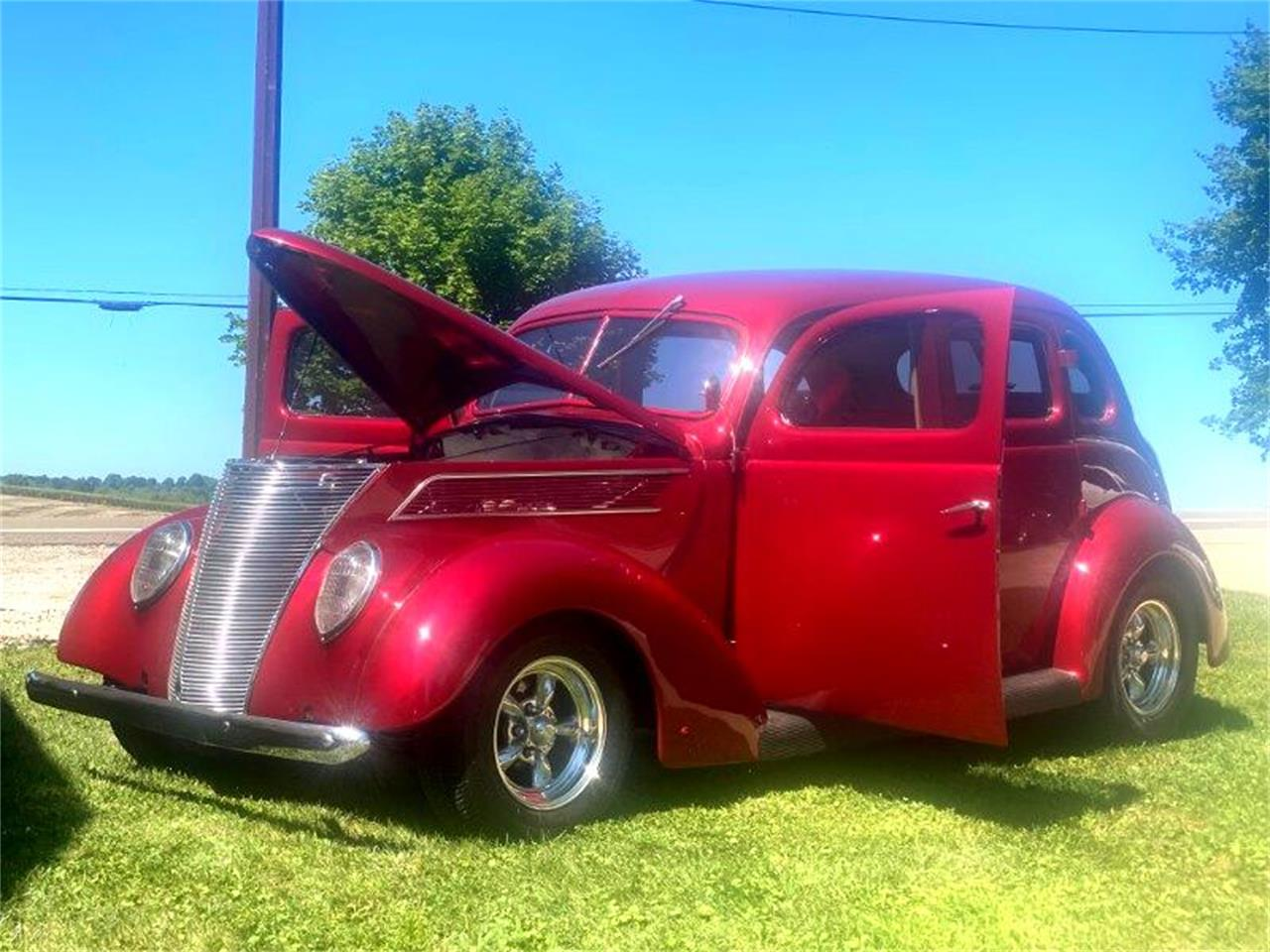 1937 Ford Sedan (CC-1383701) for sale in Louisville, Ohio