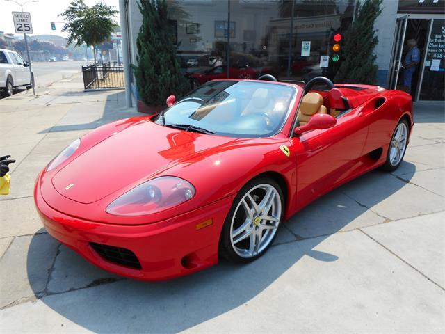 2001 Ferrari 360 Spider (CC-1383771) for sale in Gilroy, California