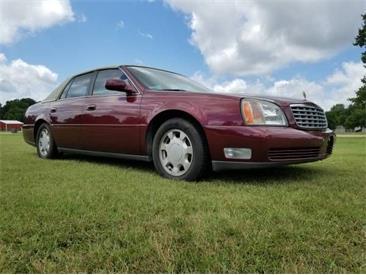 2000 Cadillac DeVille (CC-1380380) for sale in Cadillac, Michigan