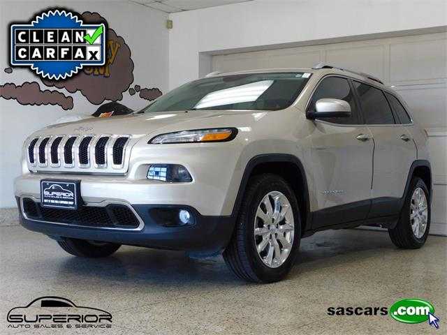 2015 Jeep Cherokee (CC-1383805) for sale in Hamburg, New York