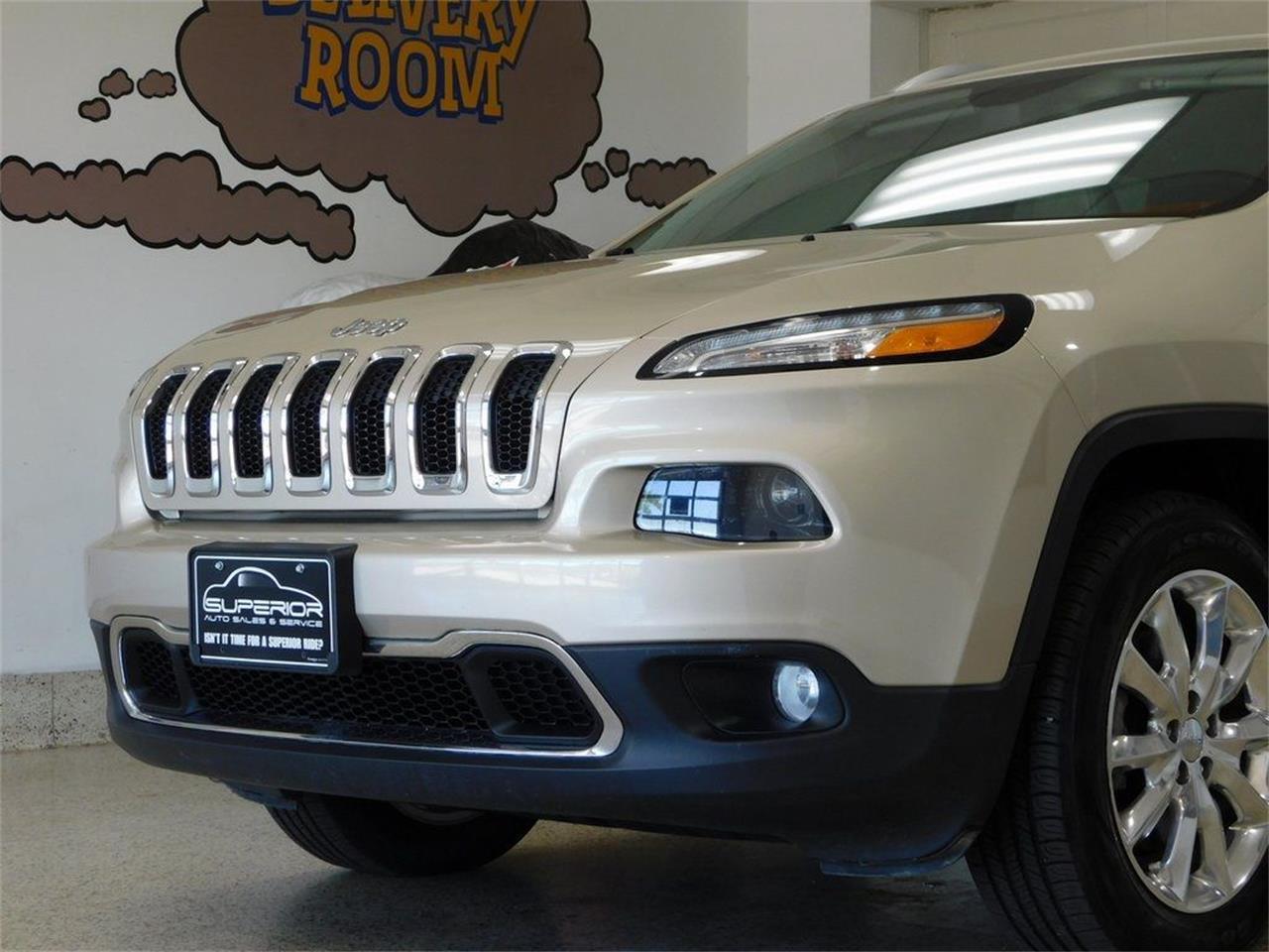 2015 Jeep Cherokee (CC-1383805) for sale in Hamburg, New York