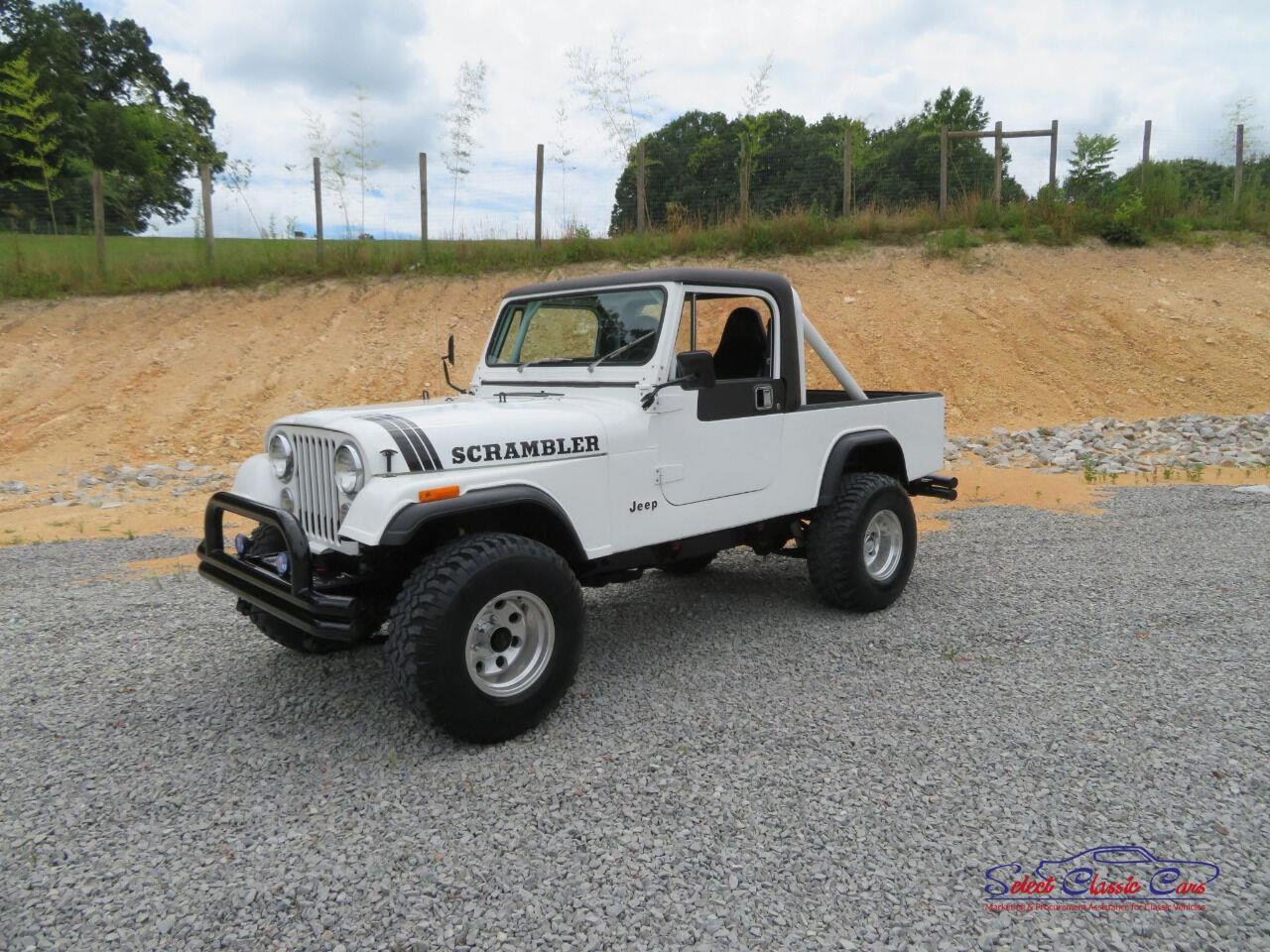 for sale 1982 jeep cj8 scrambler in hiram, georgia cars - hiram, ga at geebo