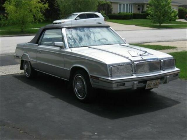 1985 Chrysler LeBaron (CC-1384468) for sale in Cadillac, Michigan