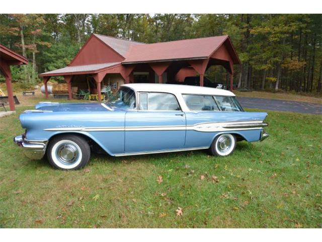1957 Pontiac Safari (CC-1384542) for sale in Cadillac, Michigan