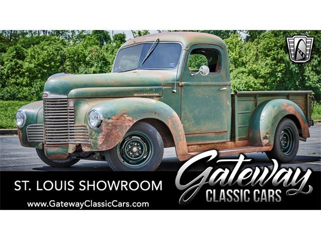 1949 International KB1 (CC-1384713) for sale in O'Fallon, Illinois
