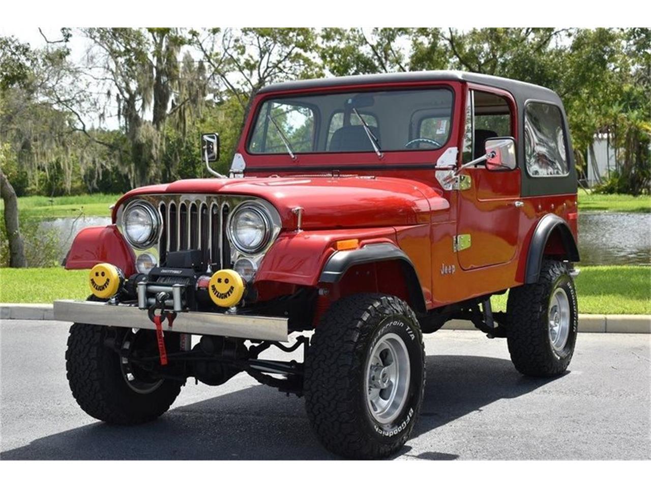 1978 Jeep CJ (CC-1384793) for sale in Lakeland, Florida