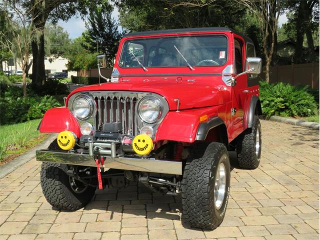 1978 Jeep CJ (CC-1384793) for sale in Lakeland, Florida