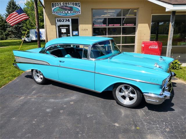 1957 Chevrolet Bel Air (CC-1380484) for sale in Goodrich, Michigan