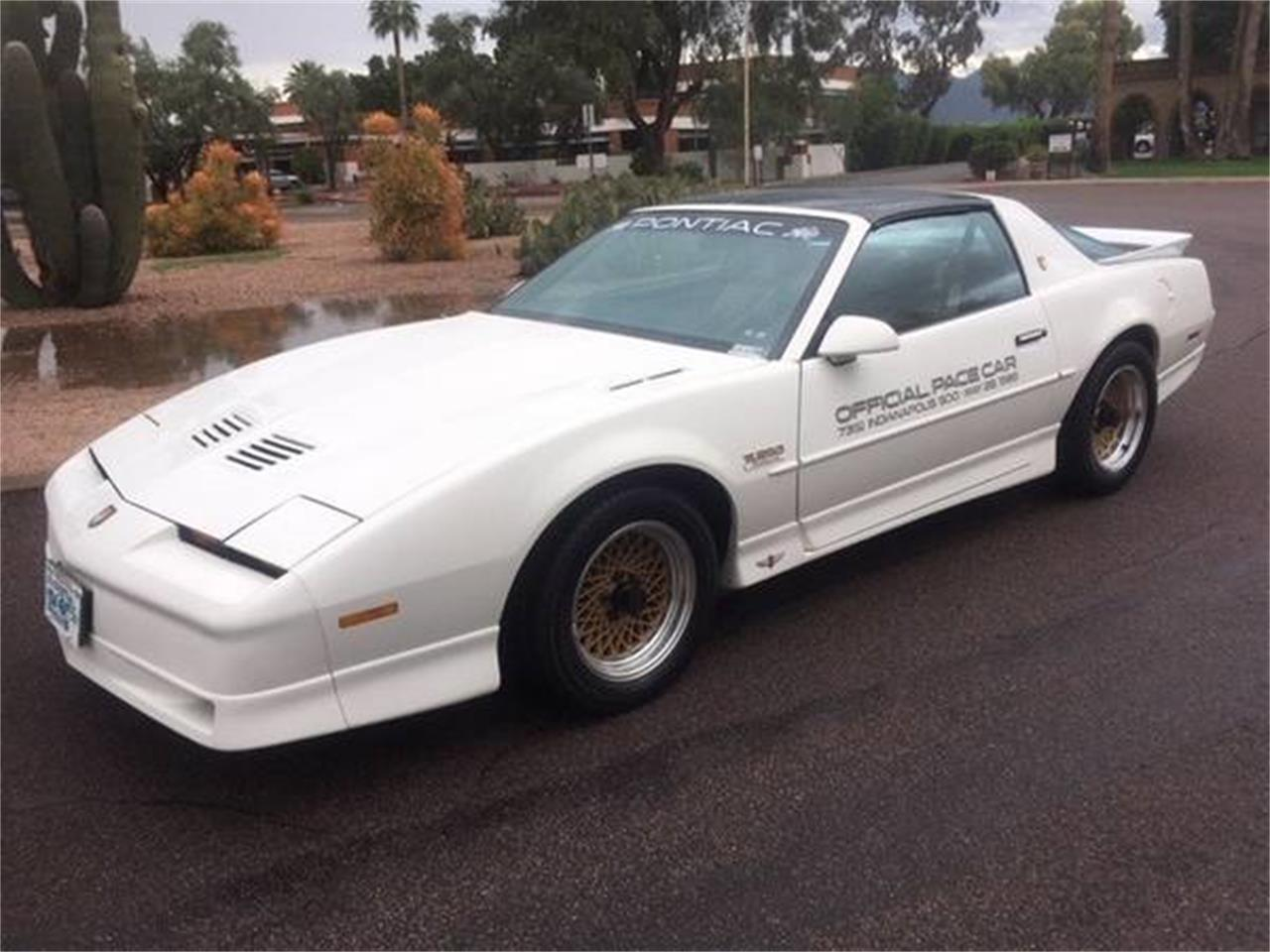 1989 Pontiac Firebird Trans Am Turbo Indy Pace Car Edition (CC-1384848) for sale in Scottsdale, Arizona