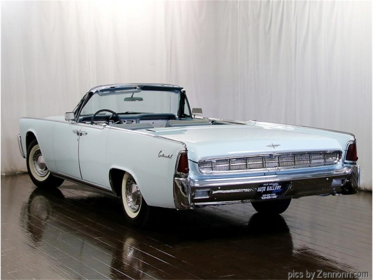 1963 Lincoln Continental (CC-1385011) for sale in Addison, Illinois