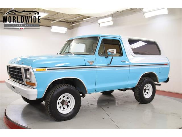 1979 Ford Bronco (CC-1380532) for sale in Denver , Colorado