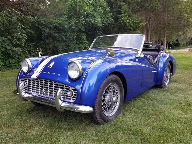1960 Triumph TR3A (CC-1385481) for sale in Fenton, Michigan