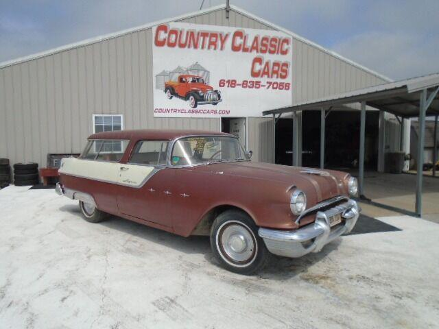 1955 Pontiac Safari (CC-1385523) for sale in Staunton, Illinois
