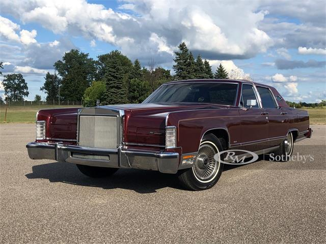 1979 Lincoln Continental (CC-1380565) for sale in Auburn, Indiana