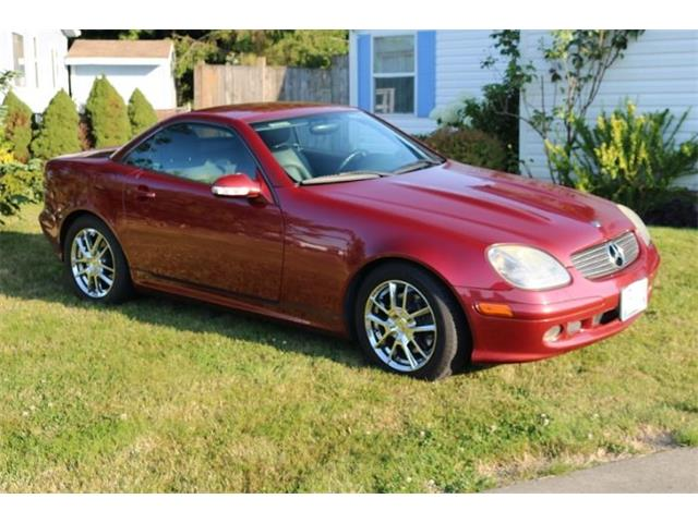2001 Mercedes-Benz SLK320 (CC-1385847) for sale in Cadillac, Michigan