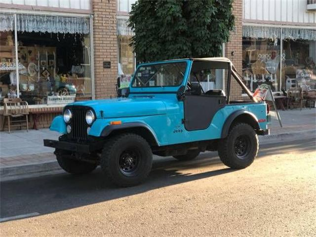 1977 Jeep CJ5 (CC-1385850) for sale in Cadillac, Michigan