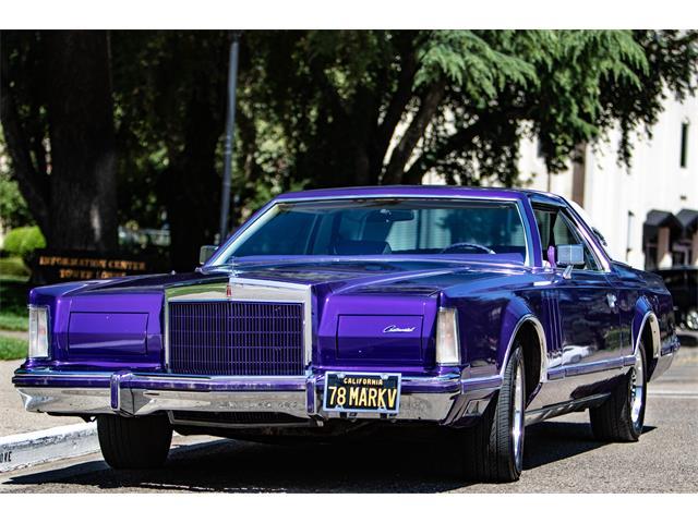 1978 Lincoln Mark V (CC-1386008) for sale in Stockton, California