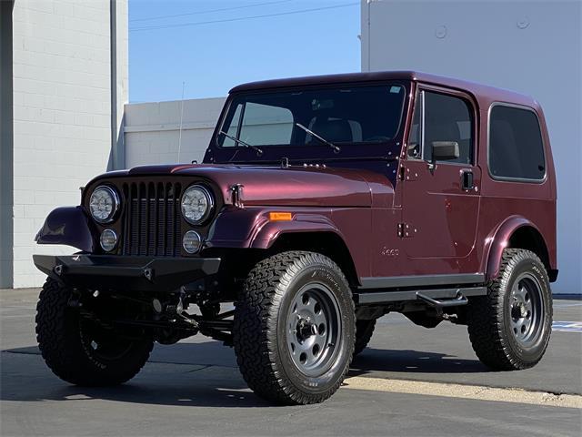 1982 Jeep CJ7 (CC-1386309) for sale in newport beach, California