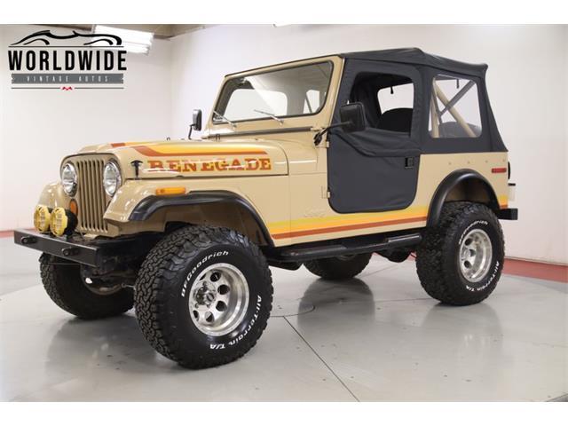 1984 Jeep CJ (CC-1386346) for sale in Denver , Colorado