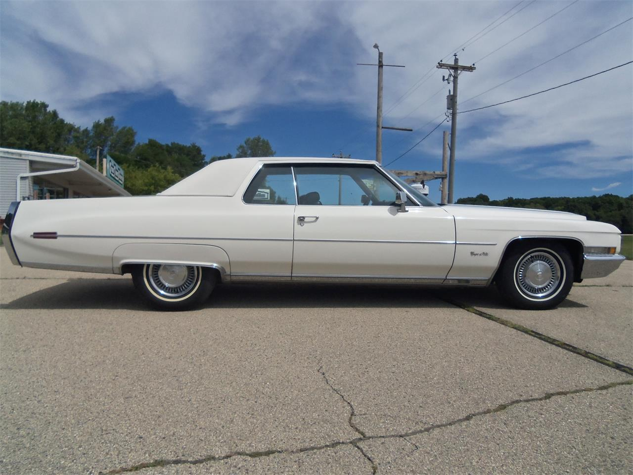 1971 Cadillac Coupe DeVille (CC-1386552) for sale in Jefferson, Wisconsin