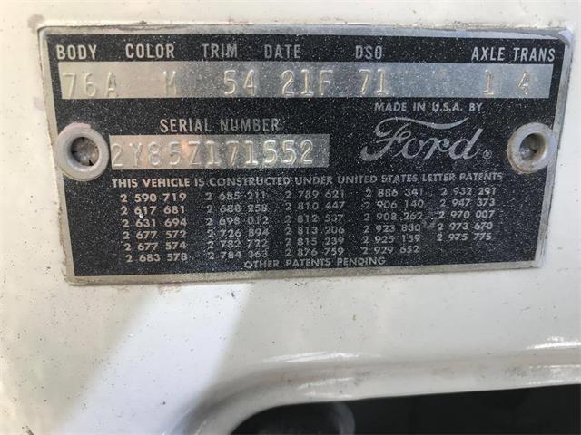1962 Ford Thunderbird (CC-1386579) for sale in UTICA, Ohio