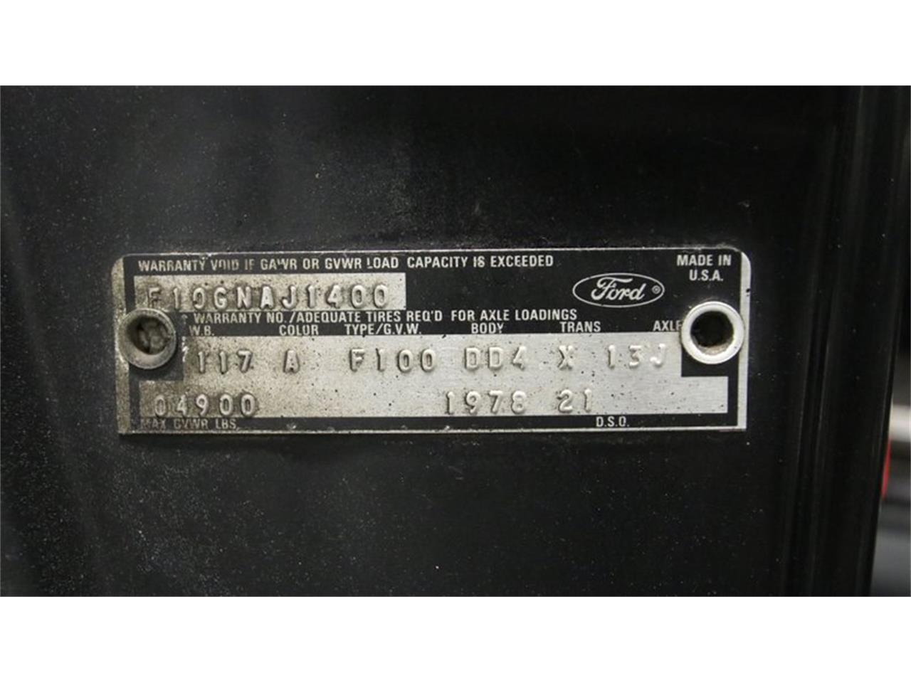 1978 Ford F100 (CC-1386661) for sale in Lithia Springs, Georgia