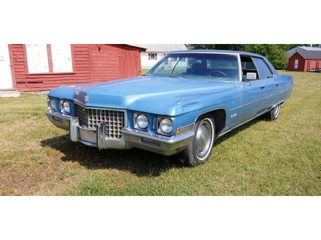 1971 Cadillac DeVille (CC-1380689) for sale in Carlisle, Pennsylvania