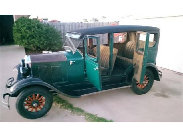 1928 Durant Sedan