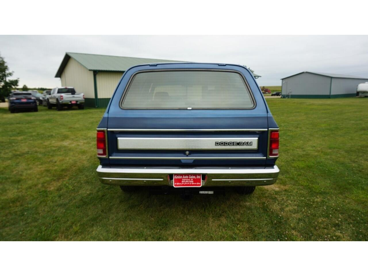 1990 Dodge Ramcharger (CC-1387200) for sale in Clarence, Iowa