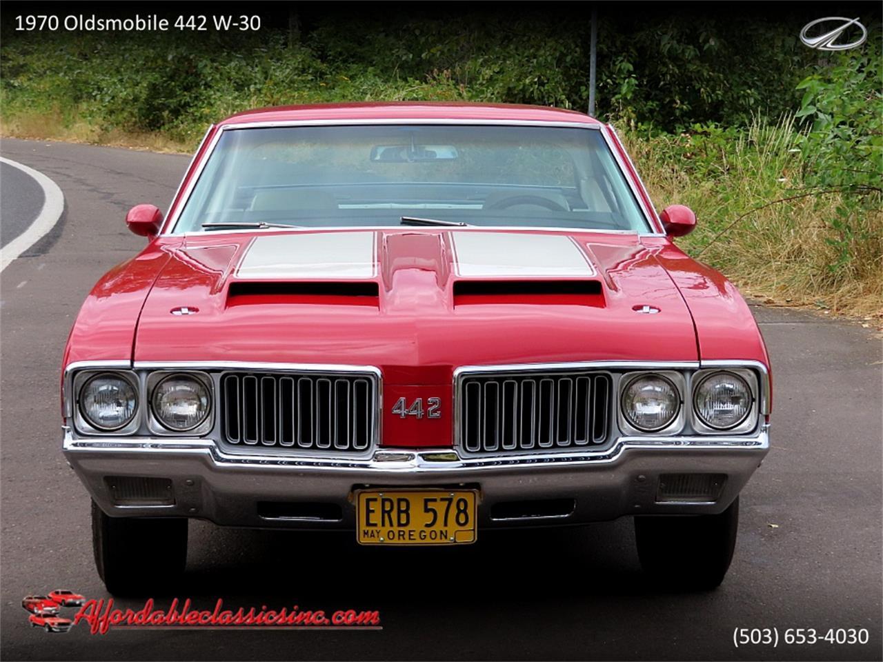 1970 Oldsmobile 442 W-30 (CC-1387223) for sale in Gladstone, Oregon