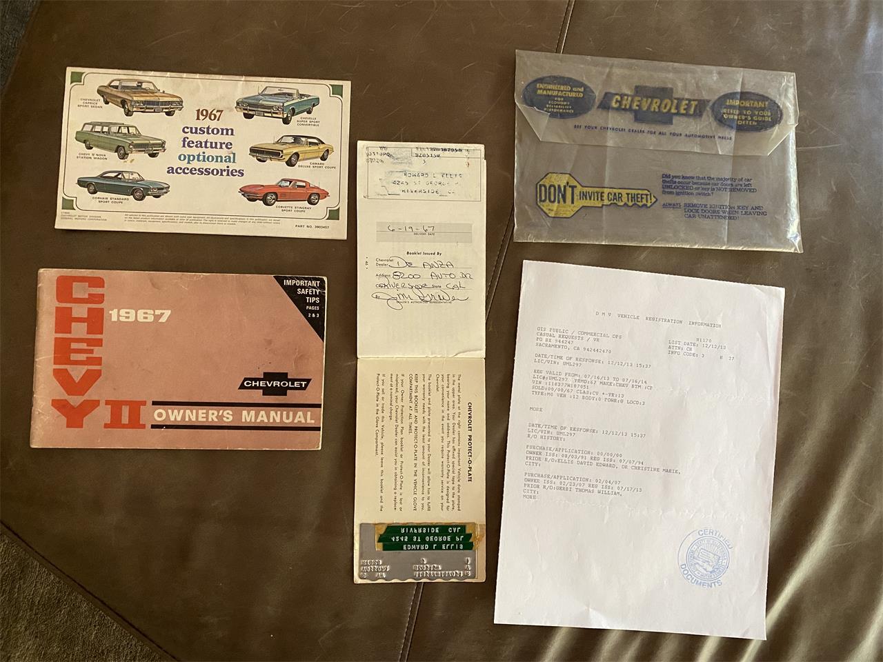 1967 Chevrolet Chevy II Nova SS (CC-1387358) for sale in Santa Rosa, California