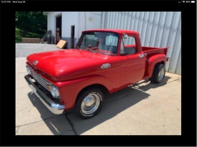 1963 Ford F100