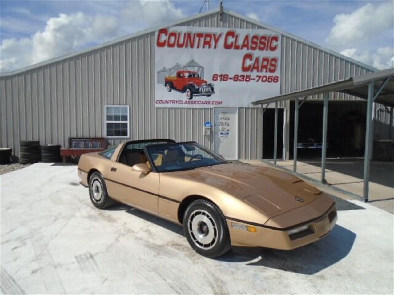 1984 Chevrolet Corvette (CC-1387506) for sale in Staunton, Illinois