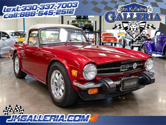 1976 Triumph TR6 (CC-1387556) for sale in Salem, Ohio