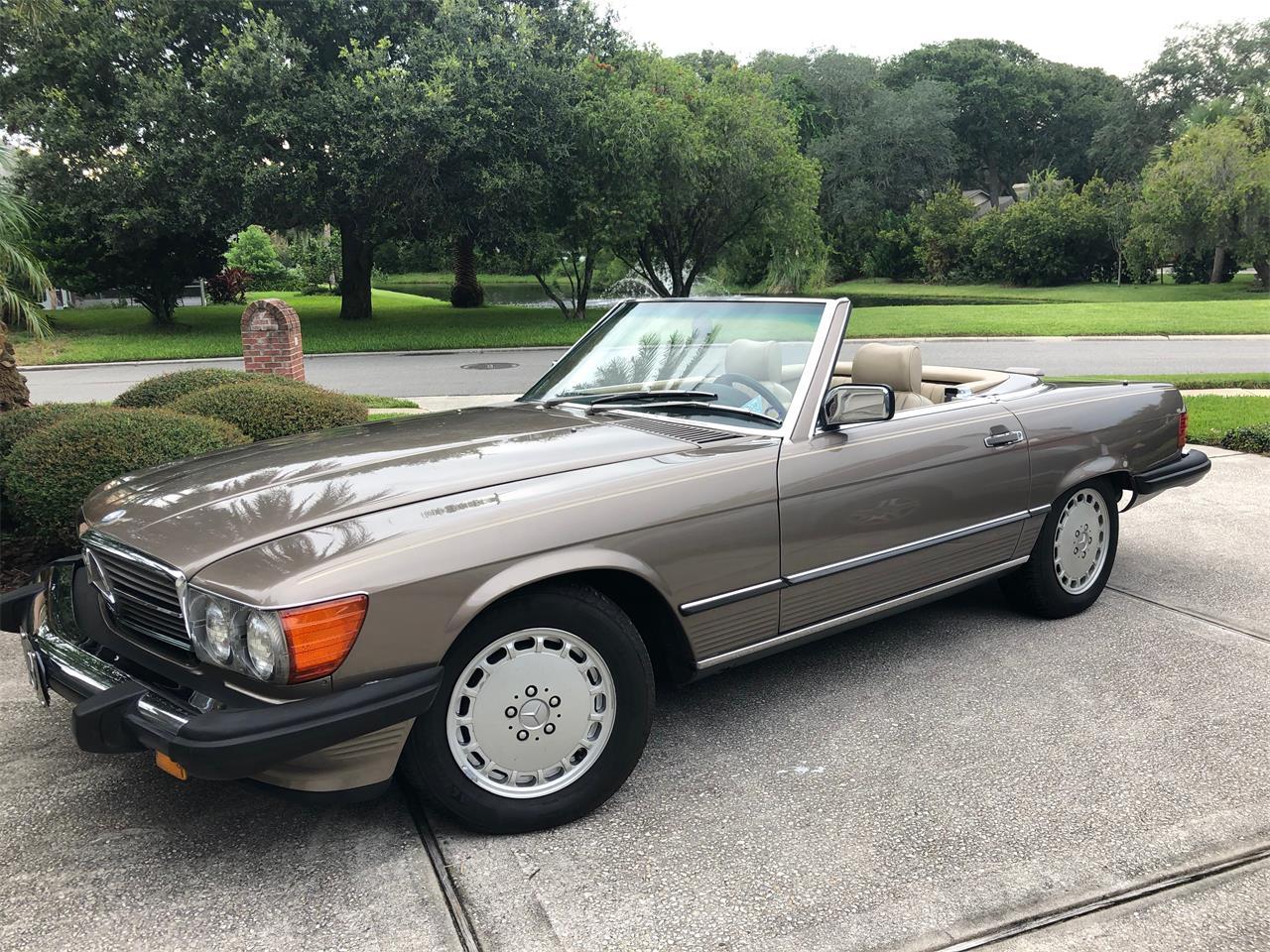 1988 Mercedes-Benz 560SL (CC-1387641) for sale in Ponte Vedra Beach, Florida