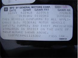 1990 Chevrolet Camaro (CC-1387802) for sale in Palmetto, Florida