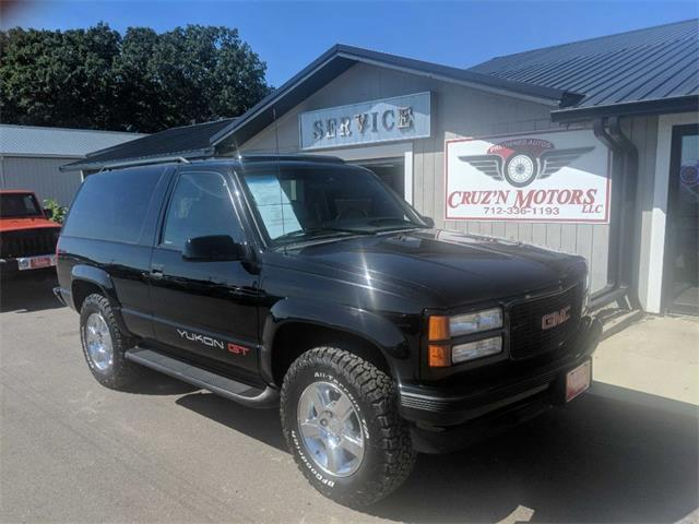 1996 GMC Yukon (CC-1388200) for sale in Spirit Lake, Iowa