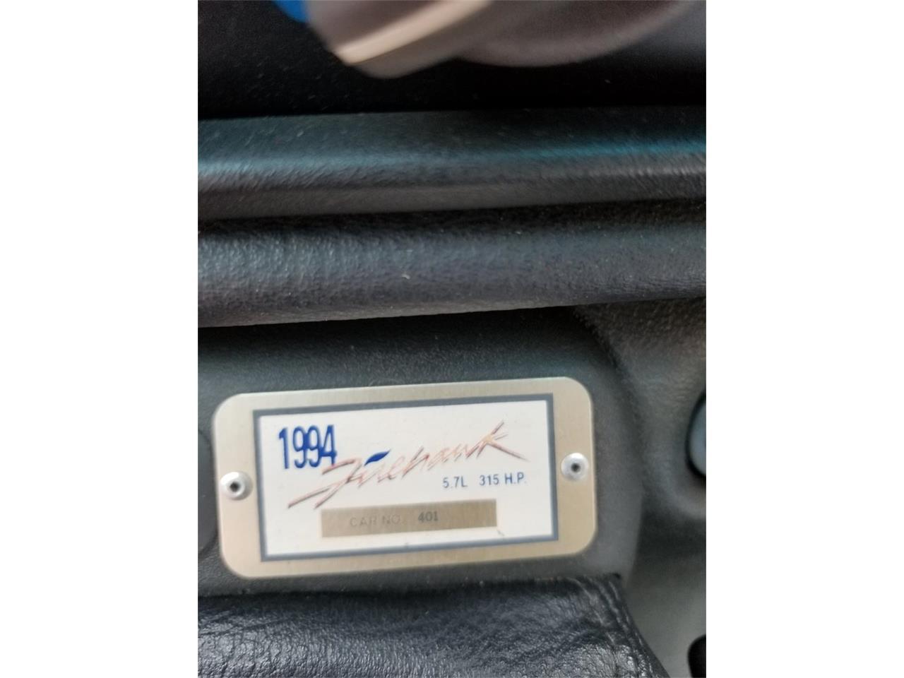 1994 Pontiac Firebird Formula Firehawk (CC-1388211) for sale in Hoffman Estates, Illinois